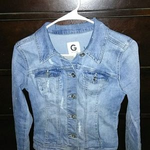 Jean jacket by Guess
